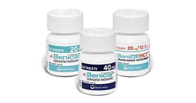 Benicar médicament prix