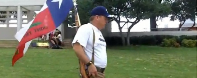 Right Wing Obama Birthers Host A Gun Protest… At The Grassy Knoll