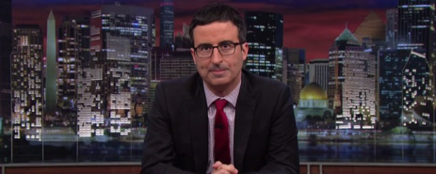 John Oliver Covers Ferguson and He Nails It
