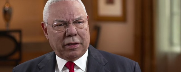 General Colin Powell: The Republican Party is Headed for a Brick Wall