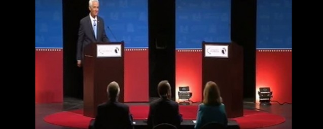 The Night Rick Scott Hid Behind Stage, Refusing to Debate