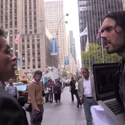 Russell Brand Threatened with Arrest by Fox Security