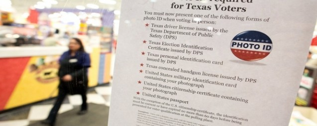 Texas' Strict ID Law Disenfranchises More than Half a Million Voters, Mostly Poor and Minorities