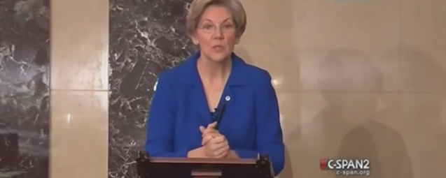 Elizabeth Warren Explains How Very Serious the Wall Street Take Over of Your Life has Become