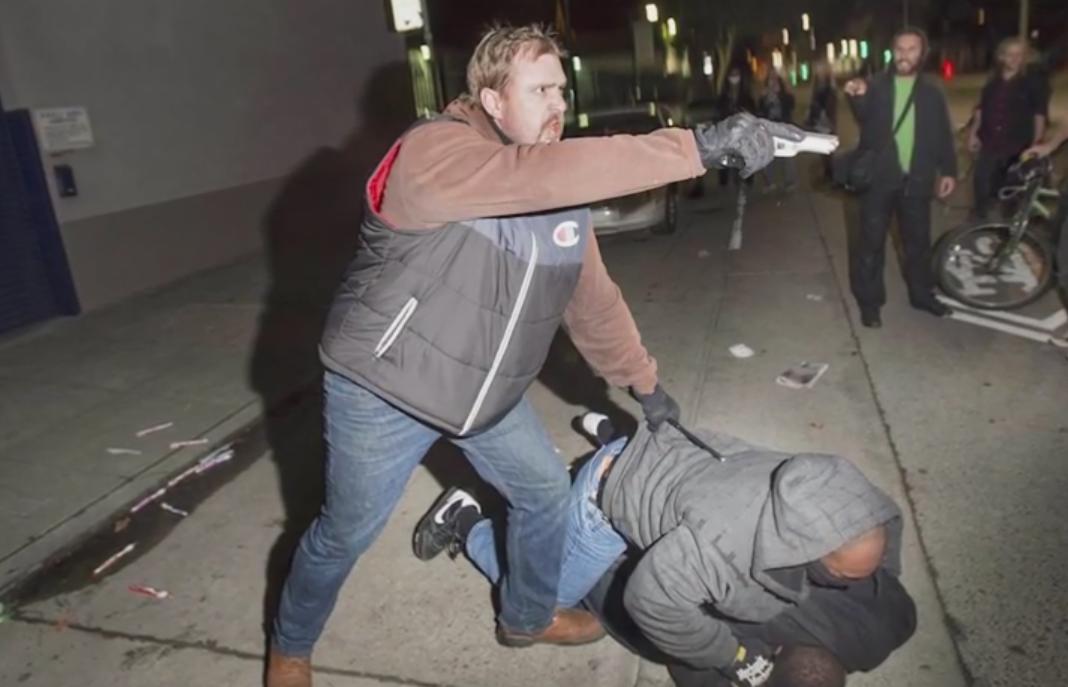 Oakland Gun Raised