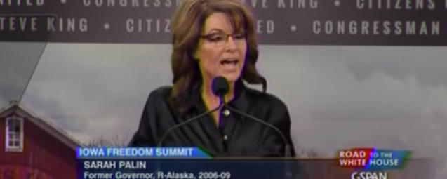Palin Has Apparent TMI On Stage As She Babbles Incoherently