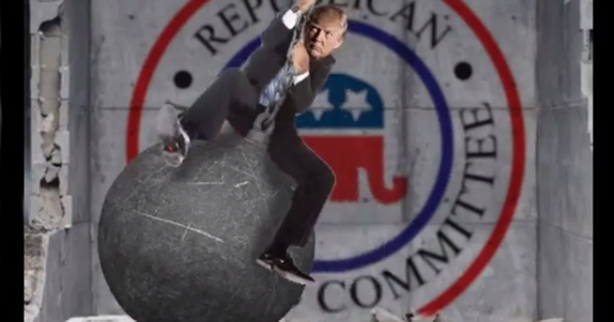 Graham; Trump is a Wrecking Ball Killing the GOP: Hey Lindsey; TOO ...
