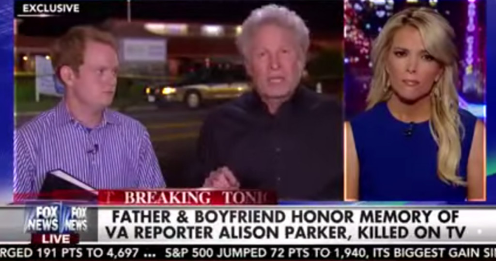 Father of Slain Journalist makes Emotional Gun Control plea on NRA safe haven Fox: Hosts stunned