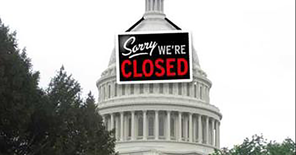 government shut down Previously on the west wing spoken by leo a disastrous fiscal crisis looms when the federal government is shut down after the president engages in a war of.