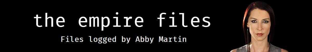 Abby Martin Banner