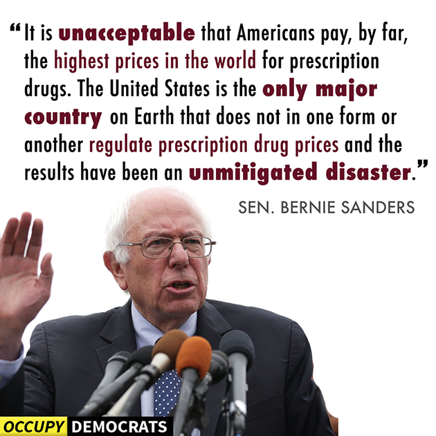 Bernie on Drug Prices