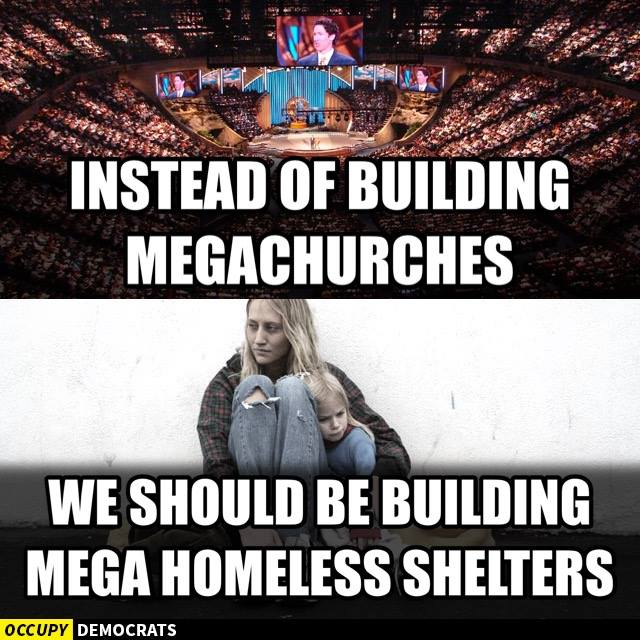 Build Homeless Shelters