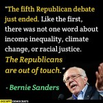 Not one word of inequality