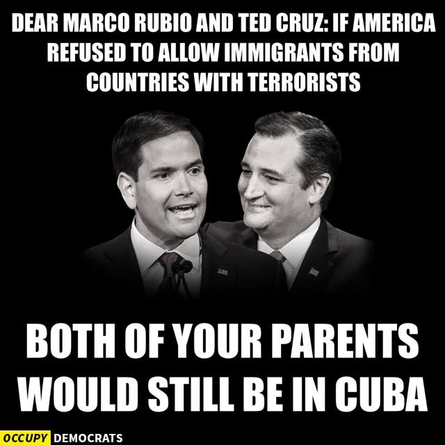 Rubio and Cruz Immigants