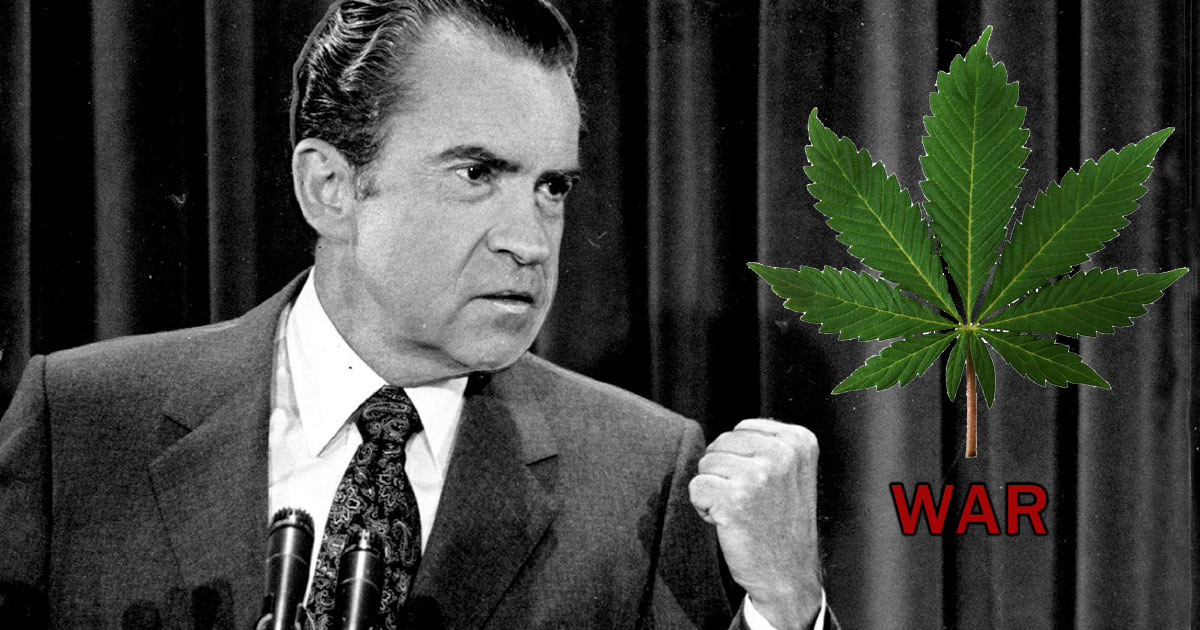 president richard nixon initiated the war on drugs followed by president ronald reagans south florid