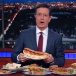 Colbert: Bernie 'Sandwiches' is a 'Hero' who fights for 'Po Boys'