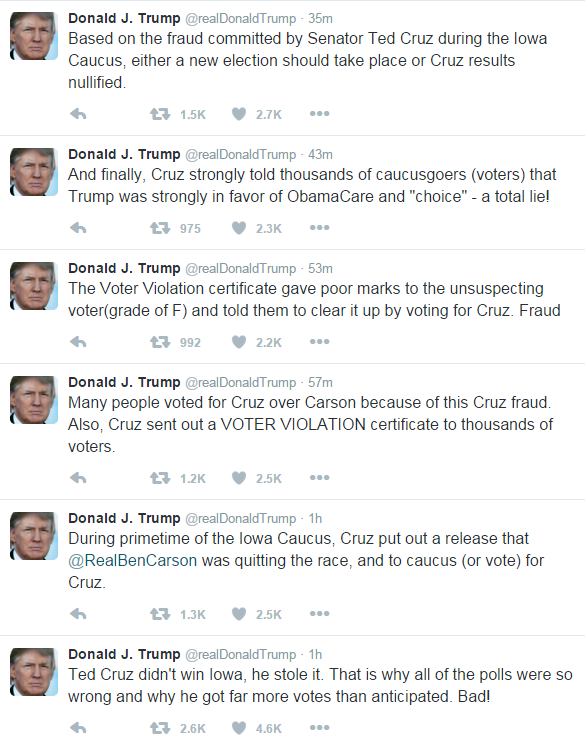 rs trump freakout