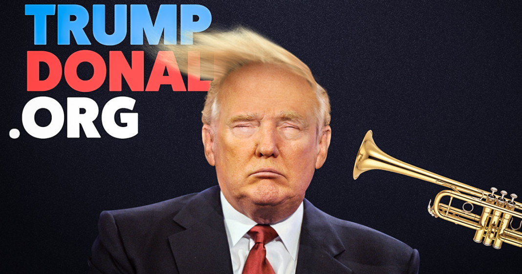 Ever Wanted to Blow Trump's Hair Away With a Trumpet? Well, Now You ...