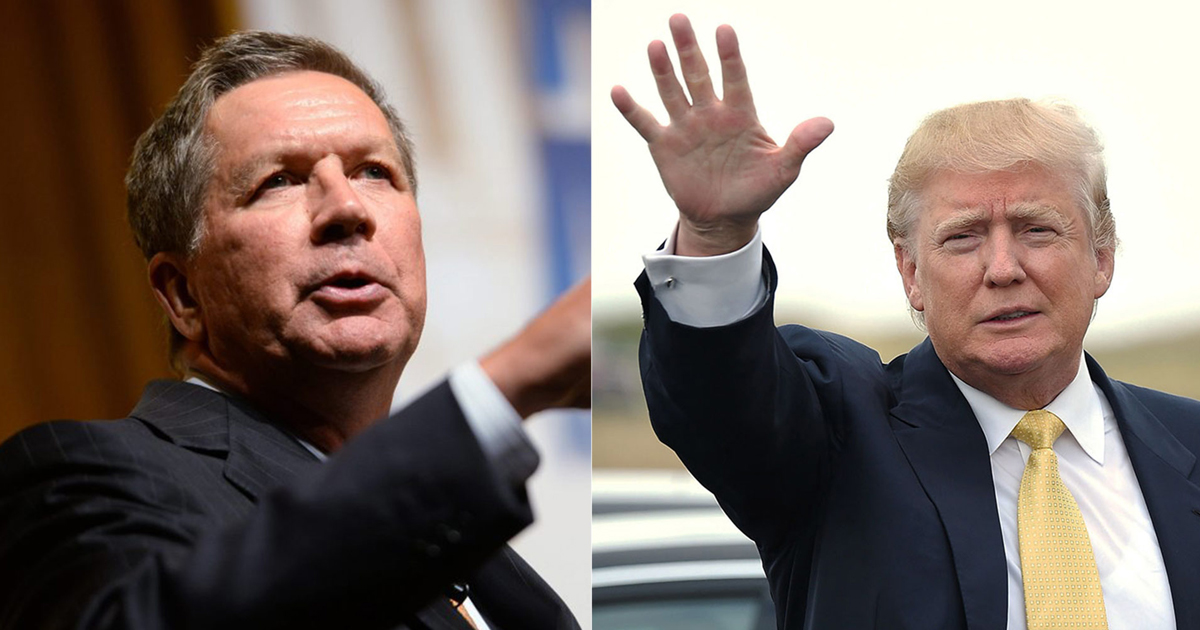 """Trump Camp Offered To Let John Kasich Run """"Foreign And ..."""