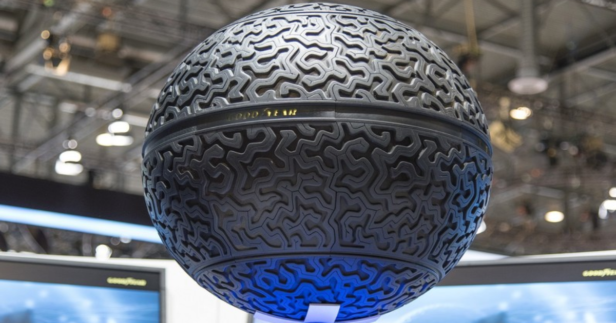 Goodyear Ball Tire >> Future Science: Goodyear Just Unveiled A Super Cool Spherical Tire - The Ring of Fire Network