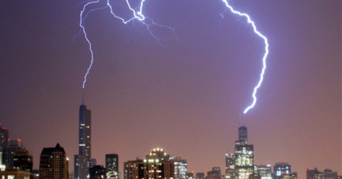 Trump Won Tuesday Lightning Struck Trump Tower Bad Omen on tower radio network