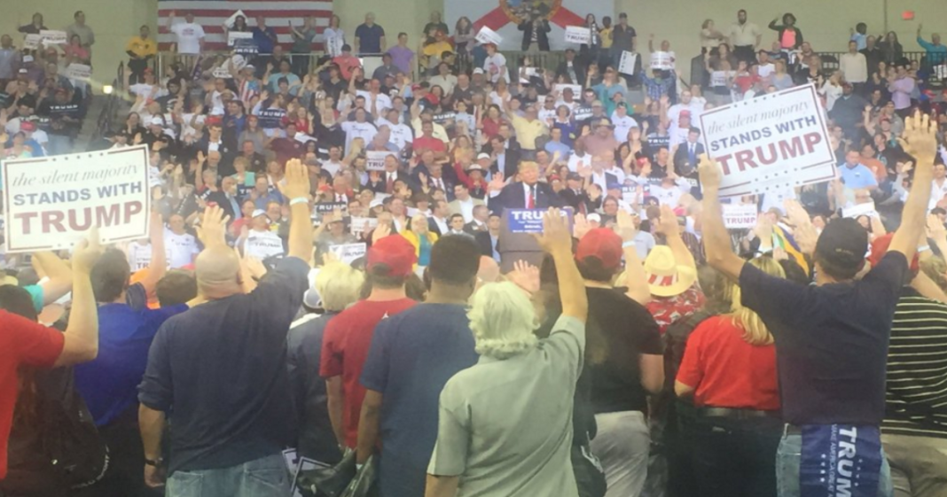 All this Trump Rally is Missing are Brown Shirts and SS ...