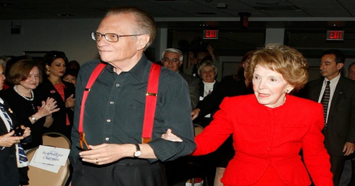 Ron Reagan praises mother Nancy Reagan