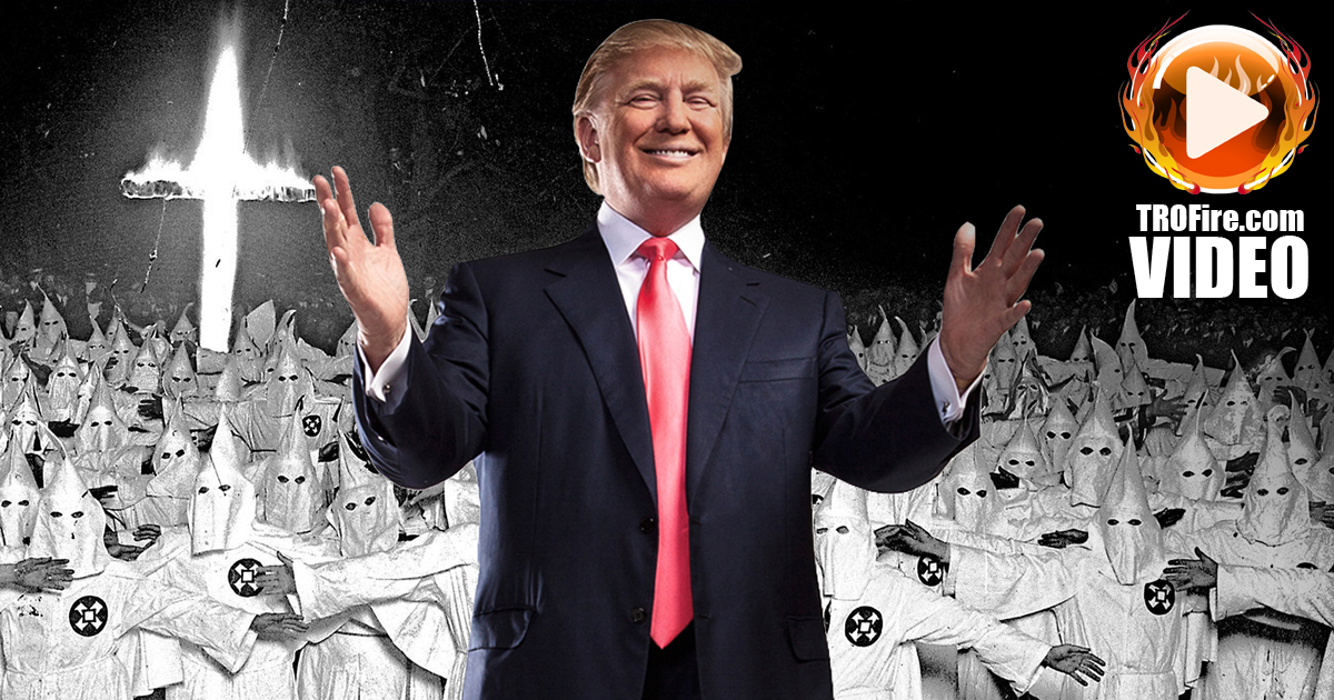 Corporate Media Doesn't Mind Trump's KKK Supporters - The ...
