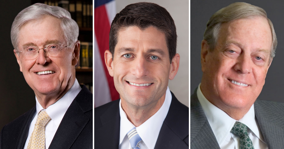 Paul Ryan outlines competing vision to Donald Trump at Koch brothers retreat in Colorado Springs