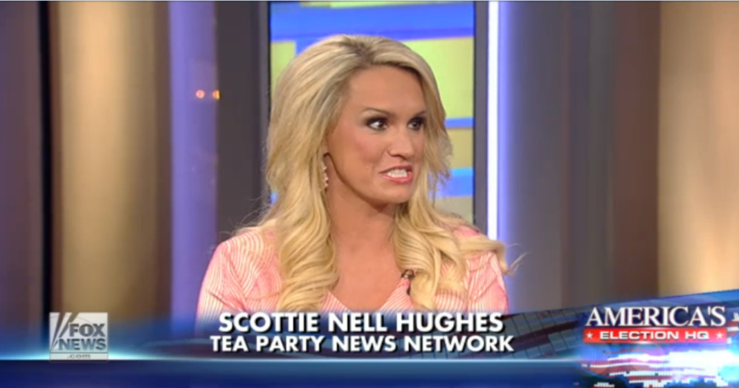 "Trumpkin Scottie Nell Hughes Says Trump ""Sacrificed"" Two Marriages ..."