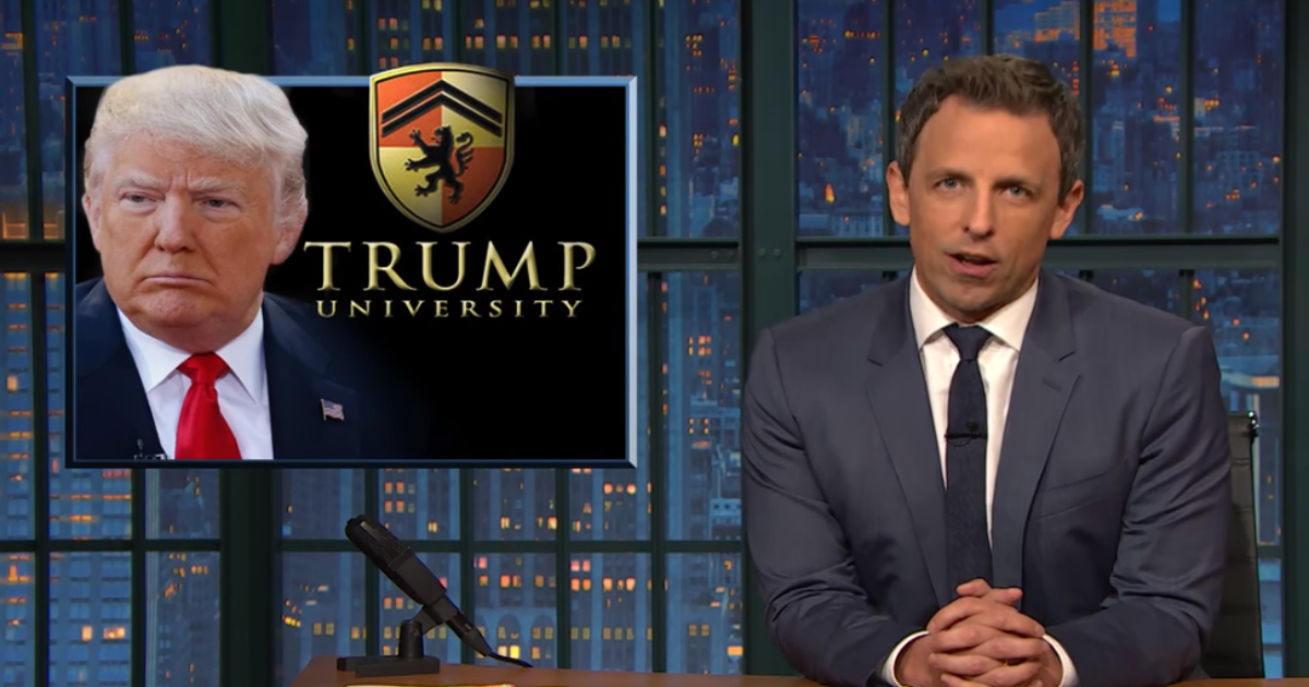 Seth Meyers Takes Trump Apart in Emotional, Must-Watch Monologue