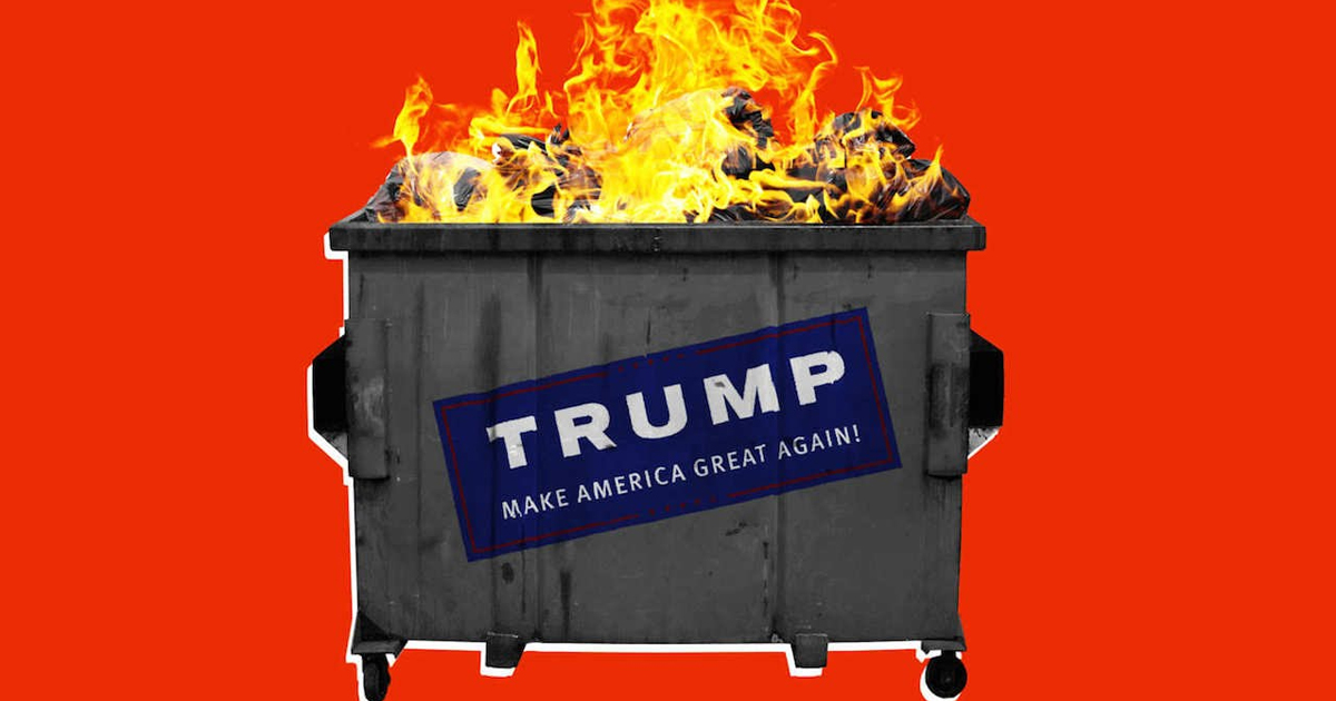 SURPRISE! GOP Platform Is a Retrograde Dumpster Fire - Majority Report ...