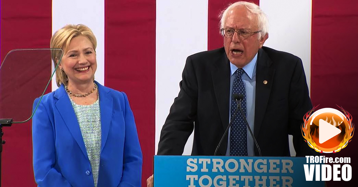 Hillary Clinton receives long-awaited endorsement from Bernie Sanders