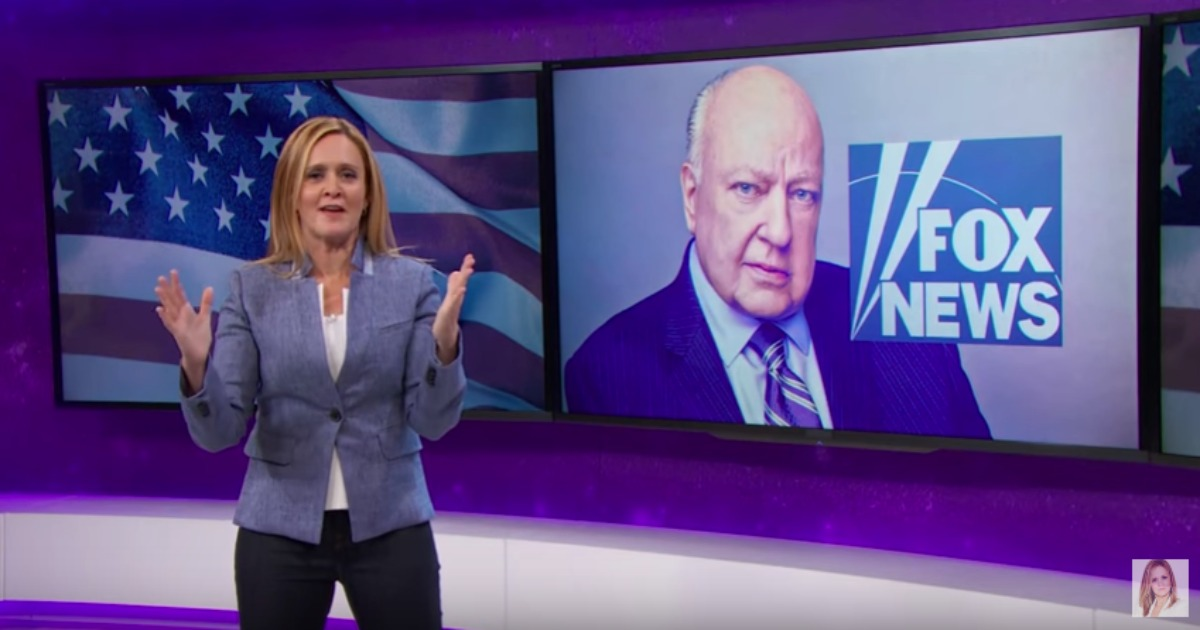Samantha Bee & the Poor Old Pervert Roger Ailes