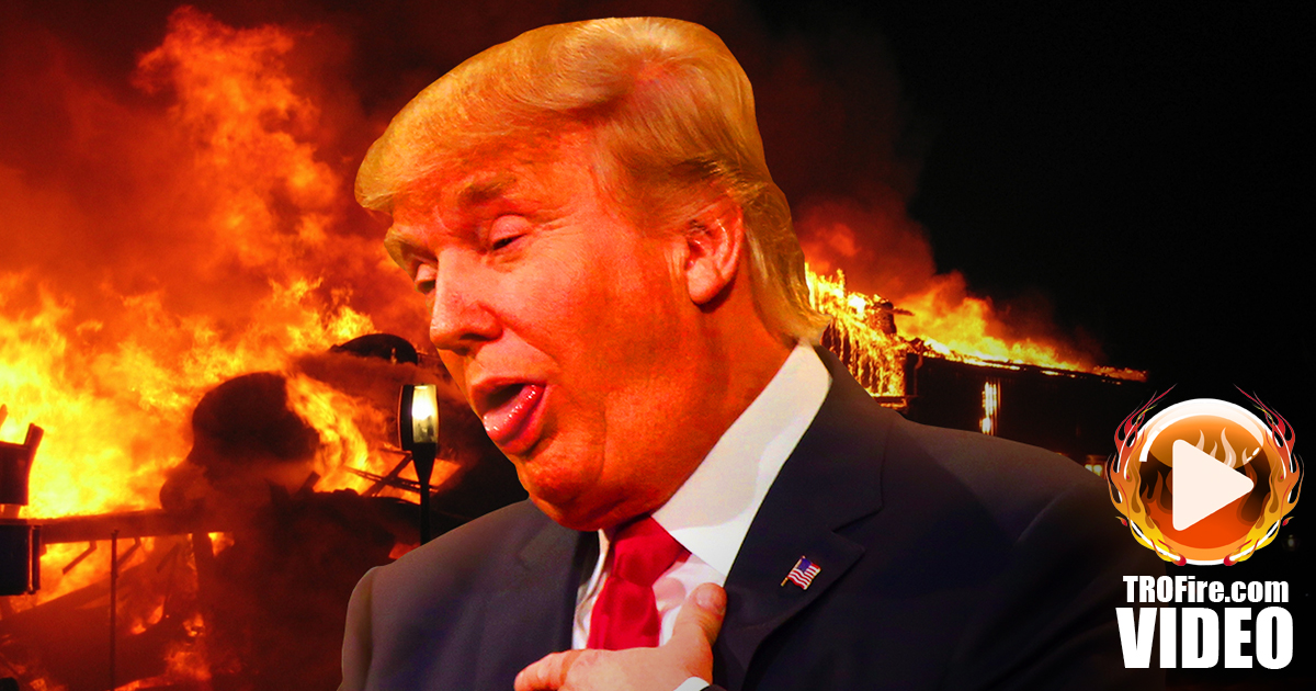 Trump's Pathetic Campaign is Going Down in Flames - The Ring of Fire ...