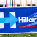 rs clinton sign
