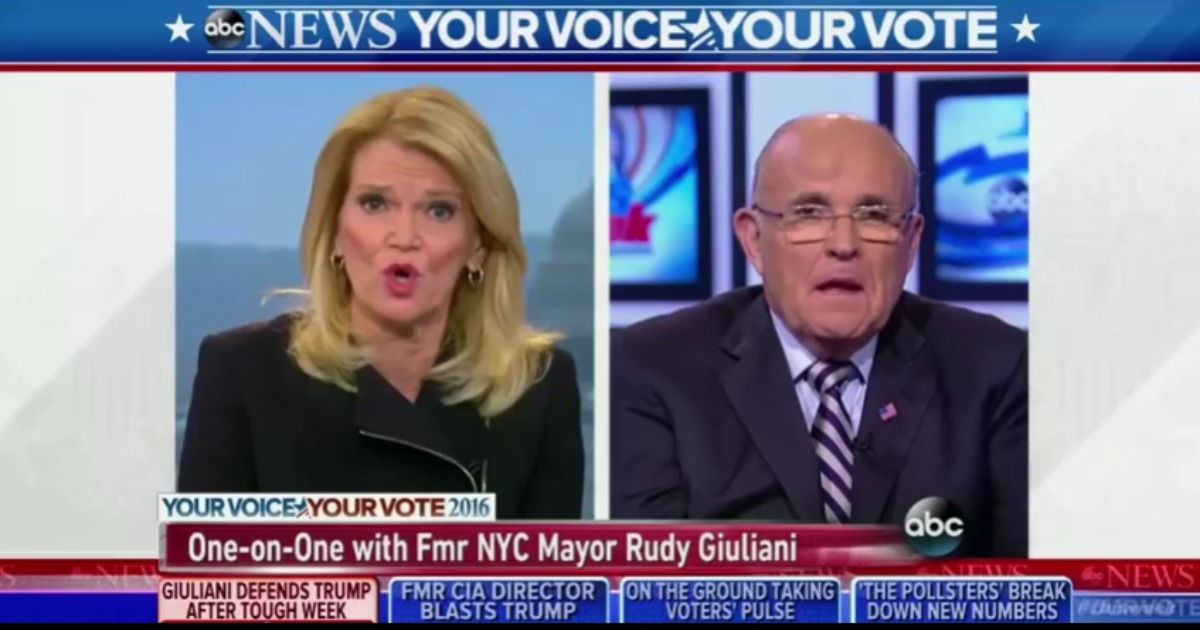 Giuliani: I'm Glad Trump Isn't Part of the Washington 'Club'
