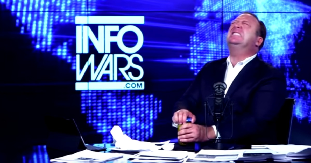 Alex Jones Admits