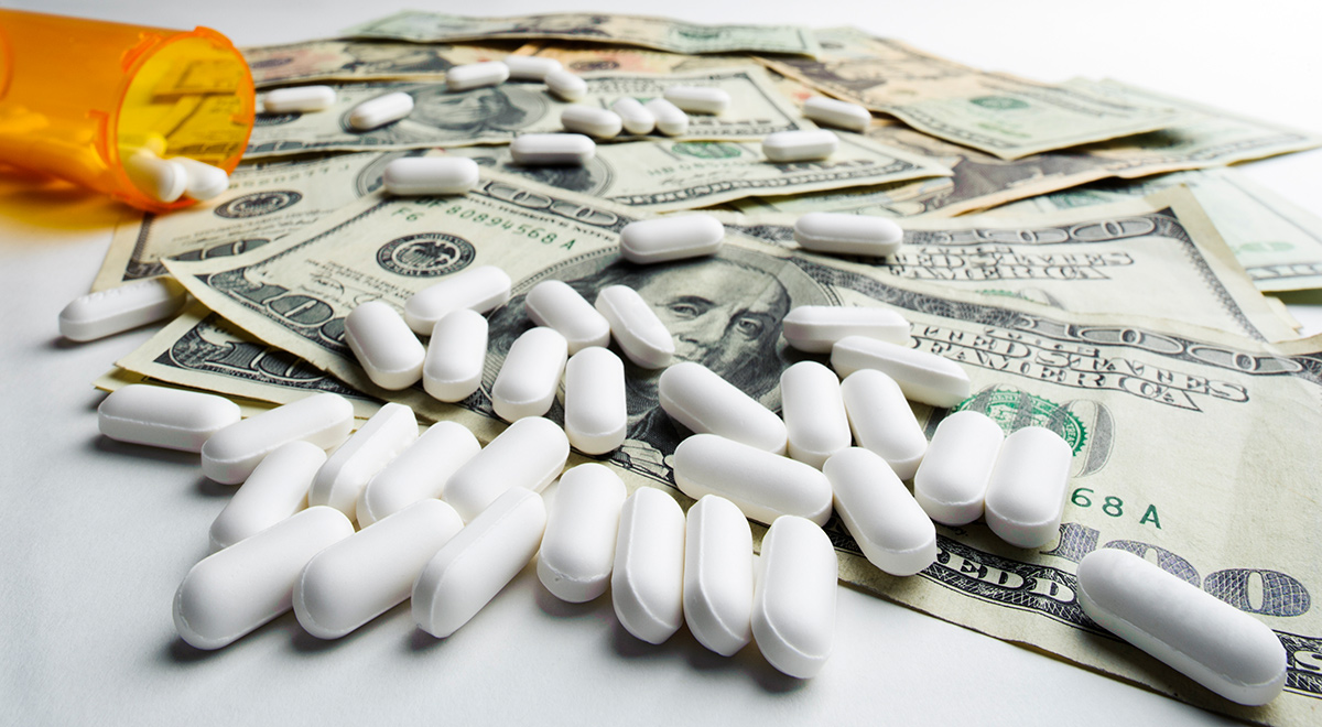 pharmaceutical companies can make money Instead, the pharmaceutical companies can charge whatever price they want for drugs bought for the publicly run medicare and medicaid programmes - and the federal government has no choice but to.