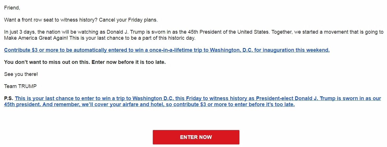 Trump Won the Election, So Why Is He Still Asking Supporters For Money ...