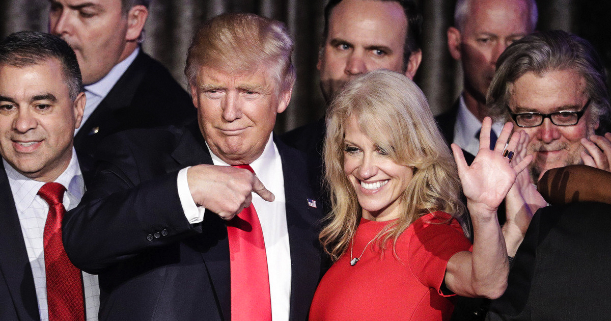 Kellyanne Conway's husband takes shot at President Trump's tweets
