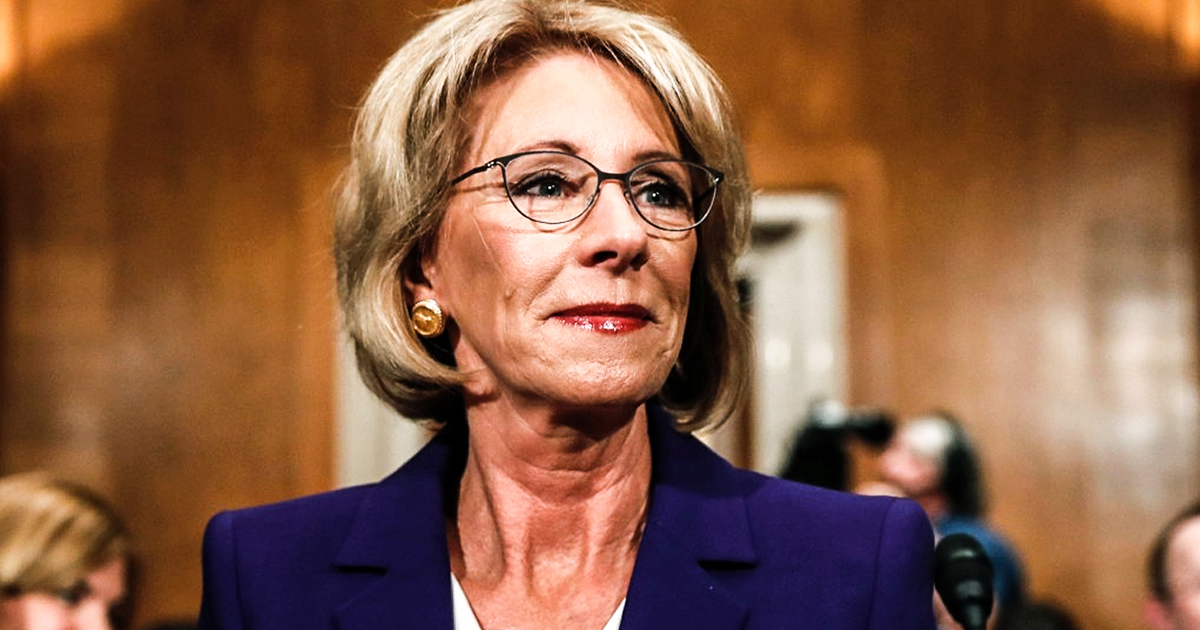 Betsy DeVos calls historically black colleges pioneers of school choice, sparks outrage
