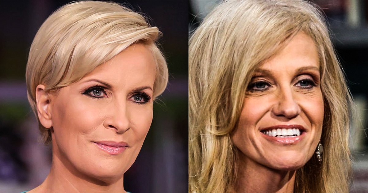 Mika Brzezinksi Hits Conway Again, Says Her Microwave is Named 'Kellyanne'