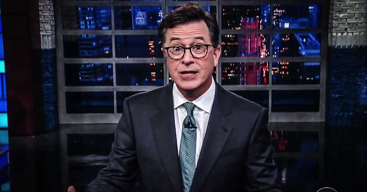 Watch Stephen Colbert Connect Dots Between Donald Trump Jr., Russia