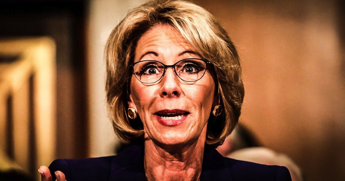 Betsy DeVos consults MRA groups about campus sexual assault laws