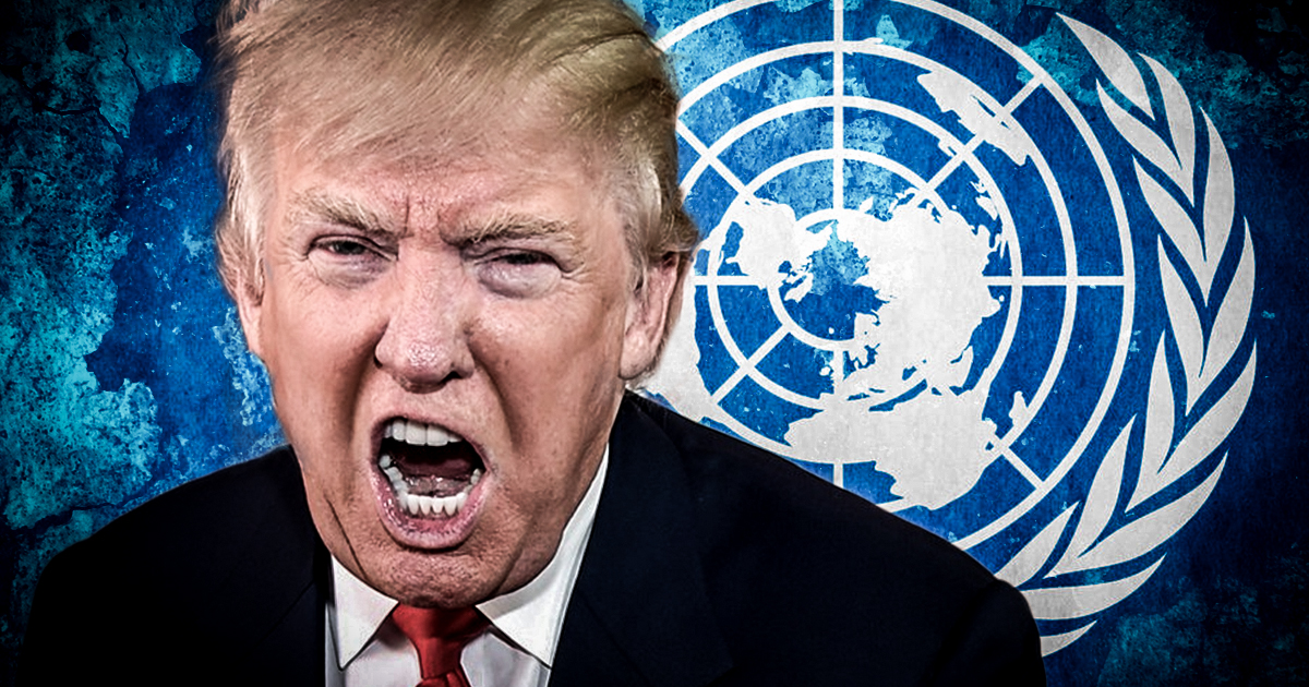 trump un speech
