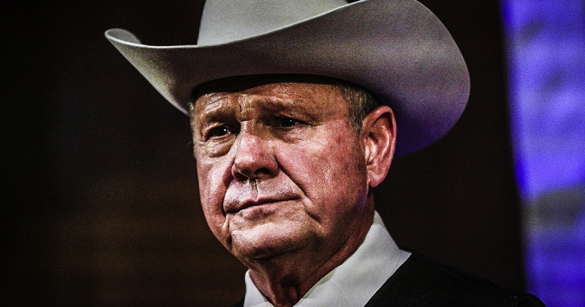Roy Moore Was Banned From Alabama Mall For Pursuing Teenagers - The Ring of Fire Network