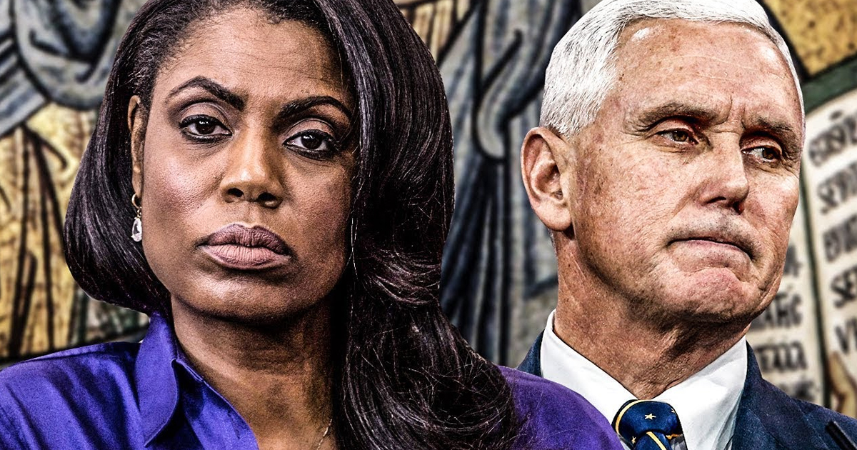 CNN Pounces on Omarosa's Claim VP Pence Was 'Scary'