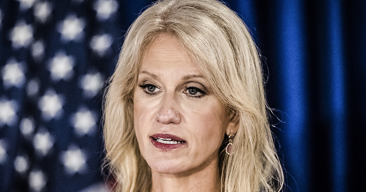 Home Media  Kellyanne Conway Gets Slammed On Twitter For Eric Schneiderman Hypocrisy By Farron Cousins