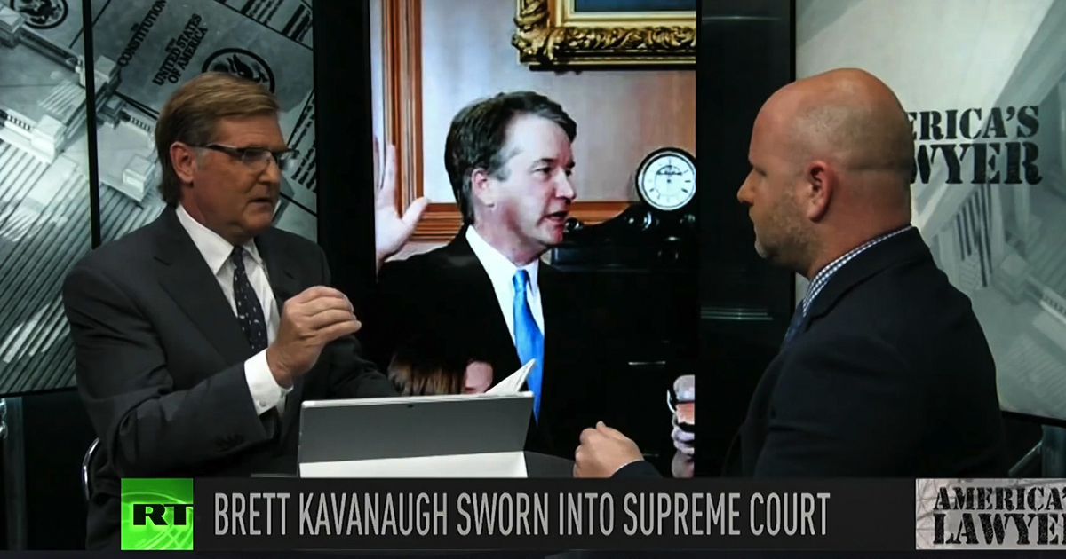 Kavanaugh The Dnc Is A Sad Joke The Ring Of Fire Network